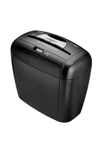 Fellowes 3213601 distruggidocumenti p35c, a frammento, uso personale, nero