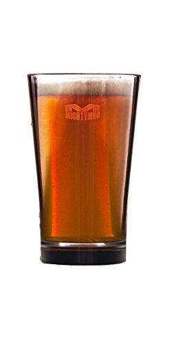 Mighty mug bicchiere-Set di 2-Smartgrip plastica Tritan Highball Beer tumbler