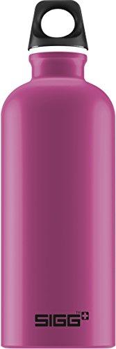 SIGG Traveller Berry,Aluminium Design Trinkflasche, 0.6 L,   Rosa