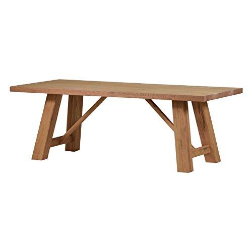 Esstisch Esszimmertisch Tisch Brandon 180x90 cm, Massivholz Holz Eiche massiv