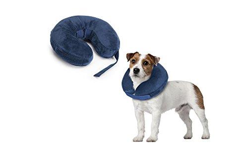 Collare per cani di protezione gonfiabile per colli 25-35