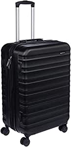 AmazonBasics 68 cm Black Hardsided Check-In Trolley
