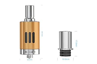 eGo ONE Mega VT Clearomizer 22mm Durchmesser - 4.0 ml - Farbe: Cool Black von DampfMarie