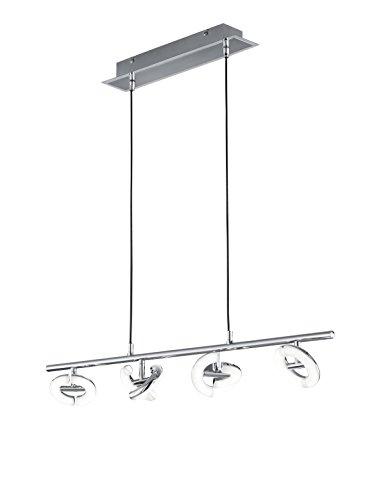 Reality LED Pendellampe 4x4 Watt Avignon 80cm 3000k warmweiß R32774106 -