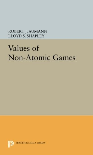Values of Non-Atomic Games (Princeton Legacy Library)