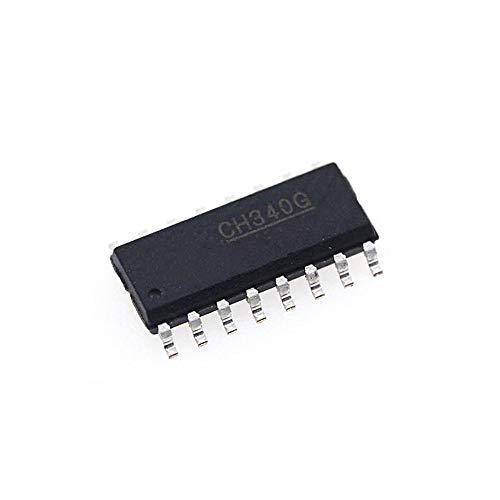 2 STÜCKE Original CH340G SOP-16 IC R3 Bord Kostenlose USB Kabel Serielle Chip