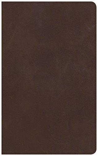 NKJV Ultrathin Reference Bible, Brown Genuine Leather, Indexed