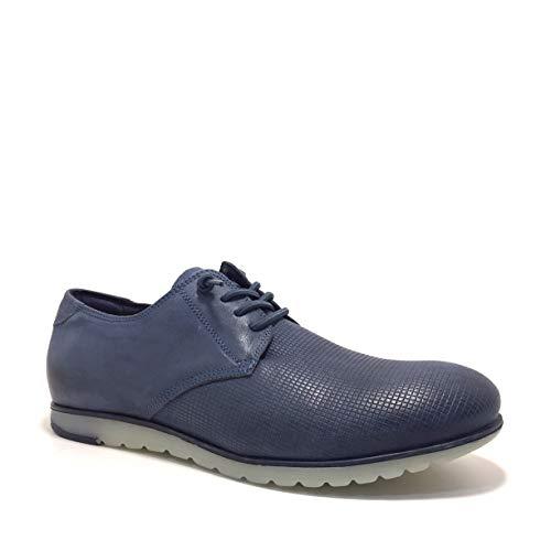 CETTI C-909, Zapatos Cordones, Color Marino, Hombres