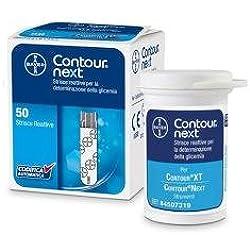Contour Next Strisce Reattive per misurazione della glicemia, 50 strisce