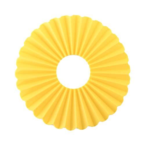 lyward Duck Yellow Folding Food Grade Silikon Tischset Hochtemperatur-Isolierkissen Auflauf Tischset Tischset Slip, 2Er Pack