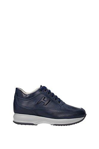 HXM00N090418A1U604 Hogan Sneakers Uomo Pelle Blu Blu