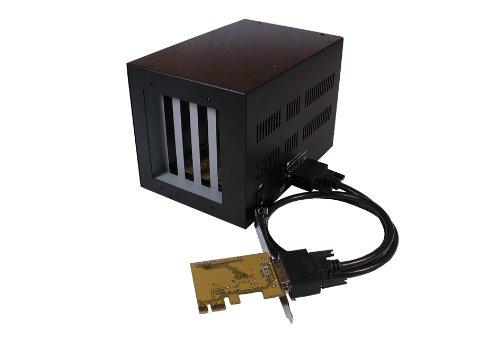 Exsys EX-1010 PCI-Express Bus auf 4X PCI Slot Expansion Box schwarz - Bus-boxen