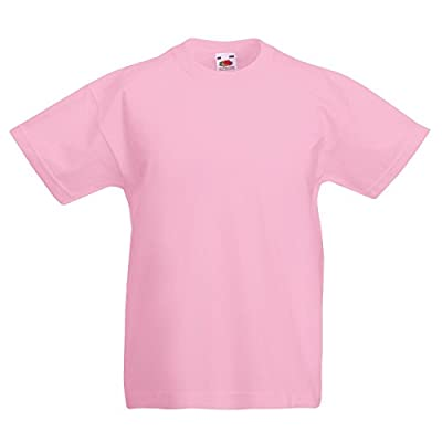 New Fruit of the Loom Childrens Kids Value Cotton T Shirt - low-cost UK light shop.