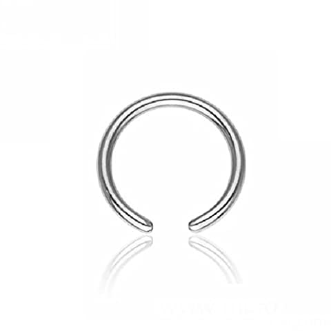 Steel - BCR ball closure ring - without ball 1,2 mm - 9 mm