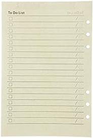 5 عبوات من ورق منقط قابل لإعادة الملء A5 ورق منقط + ورق مبطن + ورق فارغ وورق مفارش مقاس 21 × 14 سم مفكرات قياس