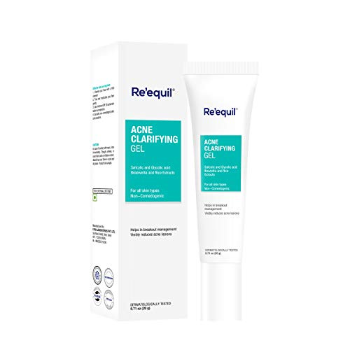 Buy RE' EQUIL Acne Clarifying Gel for Active Acne Pimple Treatment – 20 g online in India at discounted price