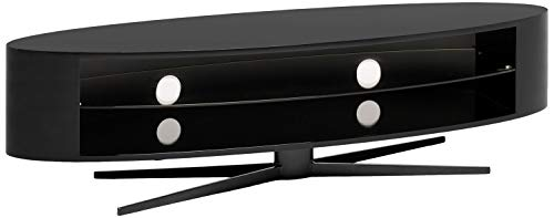 Techlink el140b Ellipse Elegant und Hochstativ für TV bis zu 178cm-Schwarz (Tv Stand Techlink)