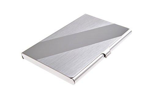 Portabiglietti da visita in acciaio inox di alta qualità, moderno ed elegante con finiture lucide (Moderna Di Alta Qualità Design)