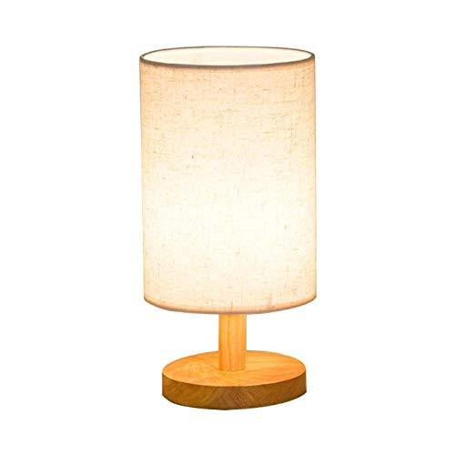 KIODS Lámpara de Noche Interior E27 Lámpara de mesilla de Noche ...