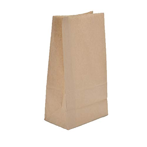 lein Kraftpapier Geschenk Candy Tasche Vintage Hochzeit Behandeln Braun Papierbeutel - 24 * 13 * 8cm ()