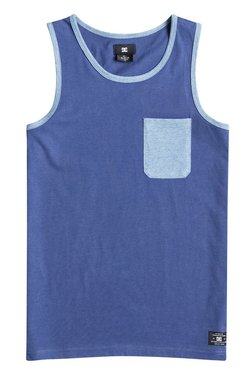 DC SHOES - CONTRA TANK BY (VINTAGE INDIGO) - BLEU