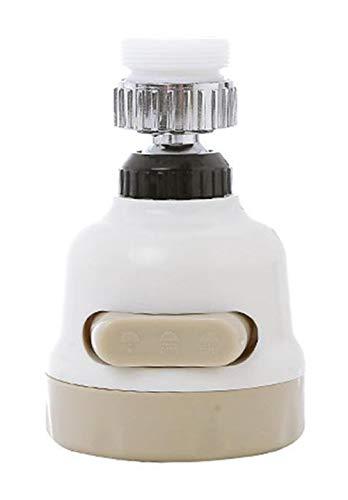 Grifo pulverizador de tres engranajes ajustable, tapón de ahorro de agua antisalpicaduras, boquilla de grifo filtro aireador difusor para cocina baño