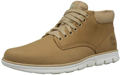 Timberland Bradstreet Leather Sensorflex, Baskets Chukka Homme, Braun (Iced Coffee Mud),49 EU
