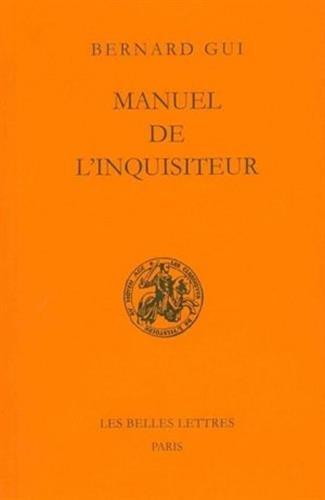 Manuel de l'inquisiteur par Bernard Gui