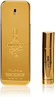 Paco Rabanne 1 Million EDT For Men- 100 ml +10 ml Travel Spray