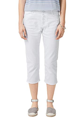 s.Oliver Damen 14.904.72.2333 Skinny Jeans, Weiß (White Denim Stretch 01z4), Herstellergröße: 40 -