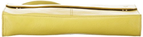 Marc O'Polo Accessories Hedda Clutch, pochettes Jaune - Gelb (limette 52000)