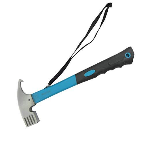 IPOTCH Outdoor Camping Hammer Zelthammer Mehrzweck Hammer - Blau