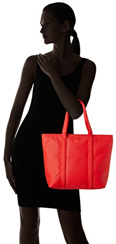 Lacoste NF2043WM, Sac Bandouliere Femmes, 29 x 14 x 30 cm HIGH RISK RED
