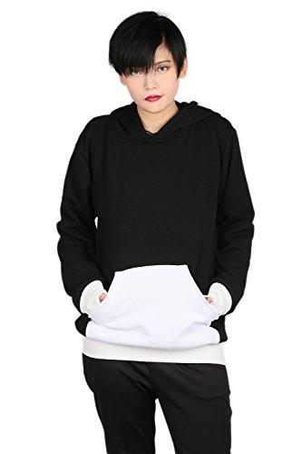 Herbst Hoodie Kapuzenpullover Jacke Jumper Top Sweatshirt Manga Cosplay Pulli Kostüm für Erwachsene (Kostüme Soul Eater)