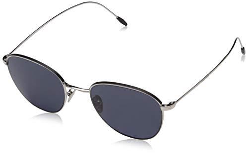 Armani Herren 0AR6048 301587 51 Sonnenbrille, Silver/Matte Black/Grey