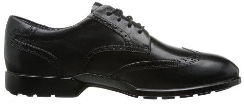 Rockport Total Motion Wingtip, Chaussures de ville homme Noir (Black)