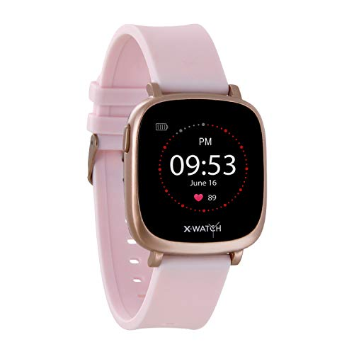X-WATCH 54039 IVE XW FIT Fitness Uhr - Fitness-Coach - Fitness Tracker mit Schrittzähler - Schlafanalyse - Workout-Tracker - Pulstracker - Kalorientracker f. Android & iOS - 1,3