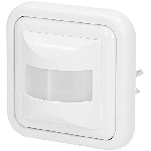 W Licht Schalter LED Wand Einbau Infrarot Unterputz Weiß ()