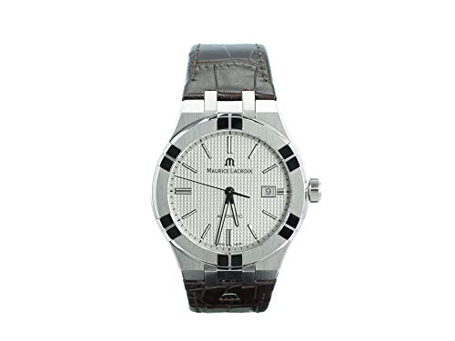 Reloj Automático Maurice Lacroix Aikon Gents, 42 mm, Plata, AI6008-SS001-130-1