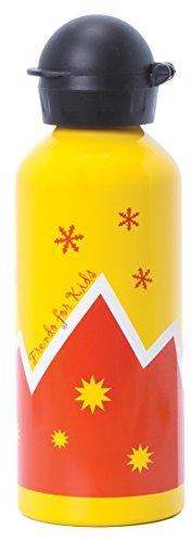 Frendo Montagna Kid Bottiglia Bambini, Alluminio, Arancione - Arancione Tappo Di Bottiglia