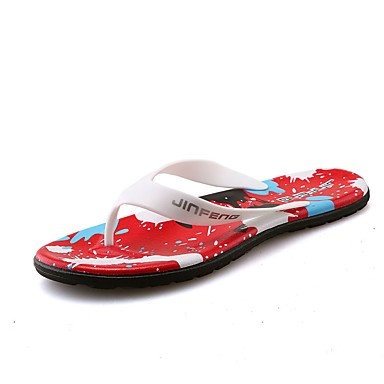 Slippers & amp da uomo;Casual tallone piano sandali Walking Estate Comfort in PVC sandali US7.5 / EU39 / UK6.5 / CN40