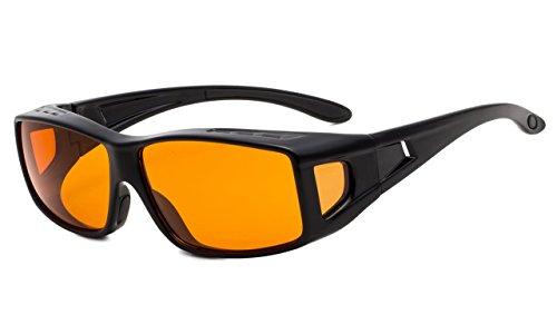 f0006c344f Eyekepper 100% reducción de luz azul,Fitover gafas de computadora de  bloqueo anti-