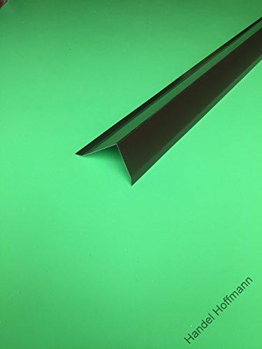 Traufblech flachdach  Ortgangblech für Flachdach 2 m lang Aluminium farbig 0,8 mm (groß ...