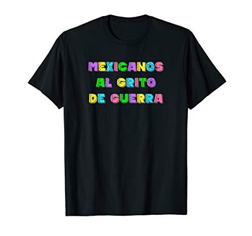 Mexicanos Al Grito De Guerra Mexico Anthem Himno Nacional T-Shirt