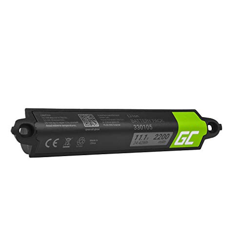 Green Cell® 330105 330105A 330107 330107A 359495 359498 Akku für Bose SoundLink 404600 414255 Bluetooth I II III (Li-Ion Zellen 2200mAh 11.1V)