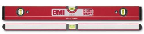 BMI 698060 Wasserwaage Robust, Länge 60 cm, pulverbeschichtet