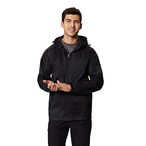 Regatta Men's Pack It Jkt III Jacket, Black, XXL