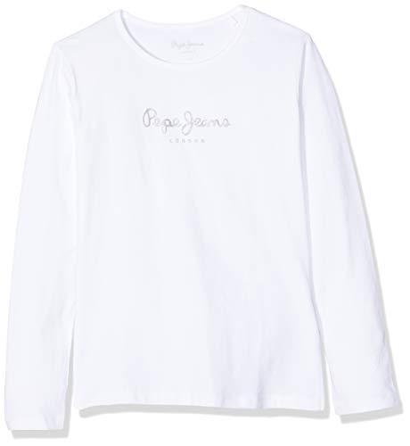 Pepe Jeans Hana Glitter L/S T Shirt Bambina