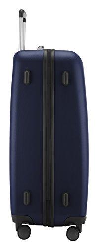 HAUPTSTADTKOFFER - Wedding - Großer Hartschalen-Koffer Koffer Trolley Rollkoffer Reisekoffer Spinner, 4 Rollen, TSA, 75 cm, 103 Liter, Dunkelblau - 5