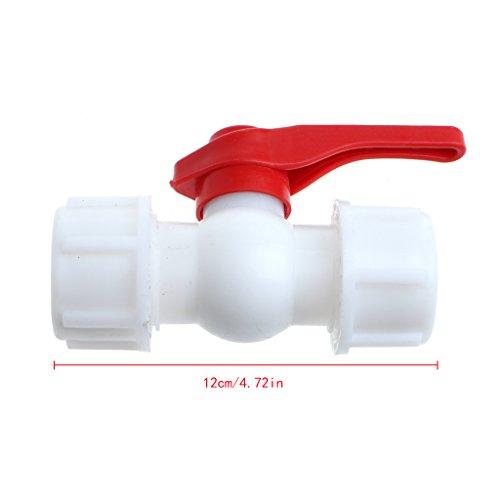 Preisvergleich Produktbild zrshygs Ablaufrohrverbinder 20mm / 25mm / 32mm Wasserrohrventilverbinder PE PPR Rohrkugelhähne Zubehör 25